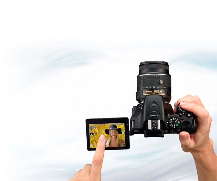 Nikon D5500 Touch Screen DSLR Camera