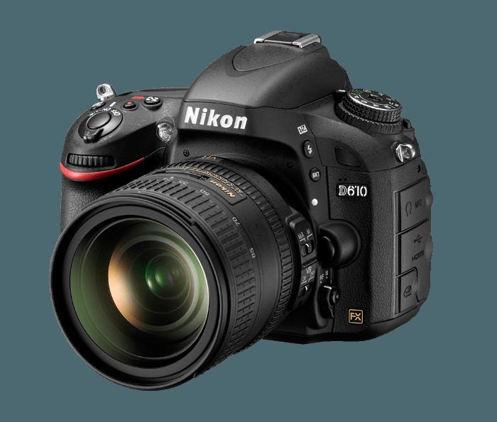 Nikon D610 | Full-Frame DSLR with Low-Light Performance