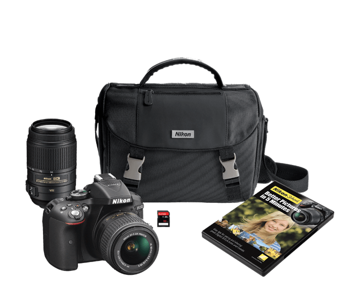 Photo of D5300 Two Lens Kit Black