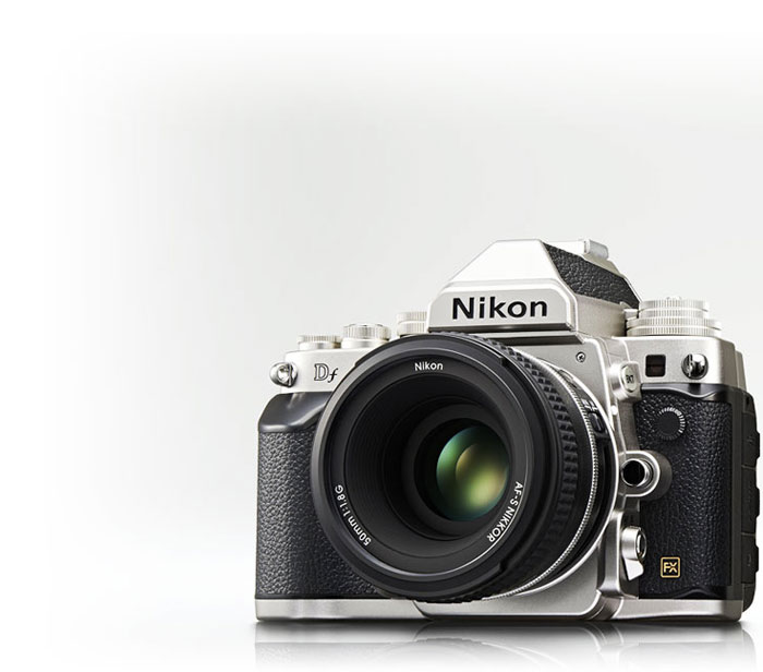 Nikon Df product shot with the Special Edition lens