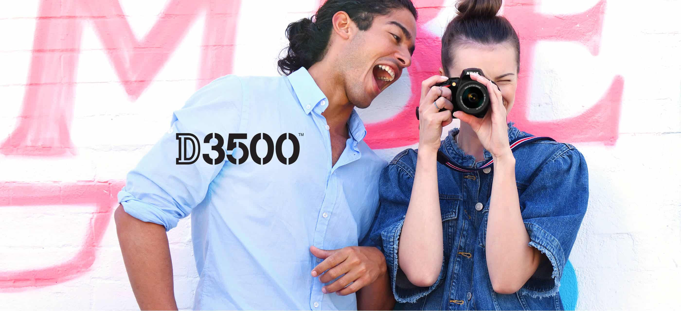 Nikon D3500 DSLR | Interchangeable Lens Camera