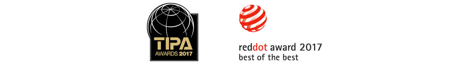 Tipa 2017 & Red Dot 2017 Awards