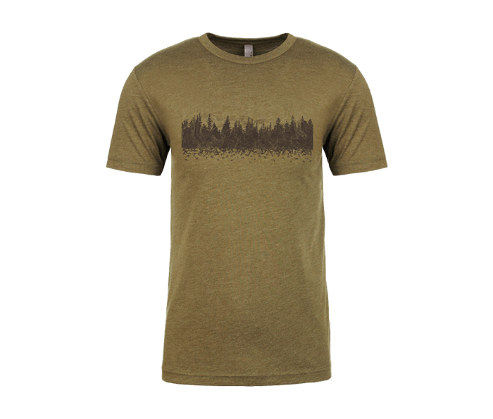 Photo of MILITARY GREEN TREELINE MOUNTAINS SHIRT-SMALL