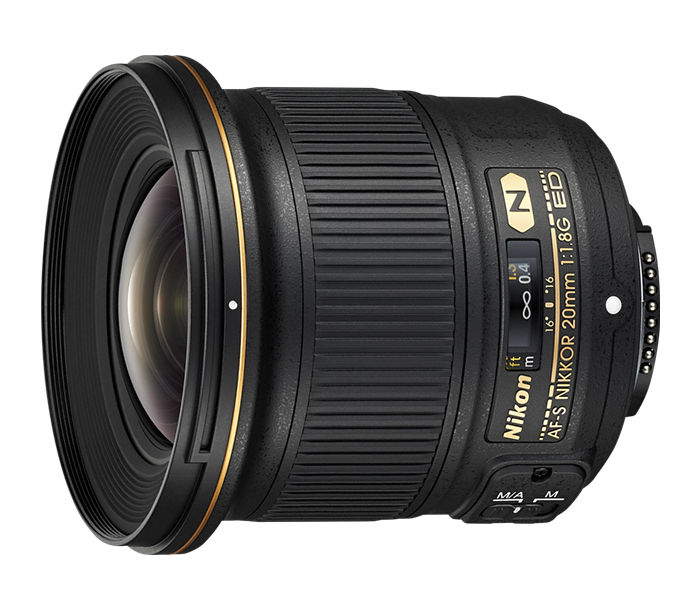 Photo of AF-S NIKKOR 20mm f/1.8G ED (Refurbished)