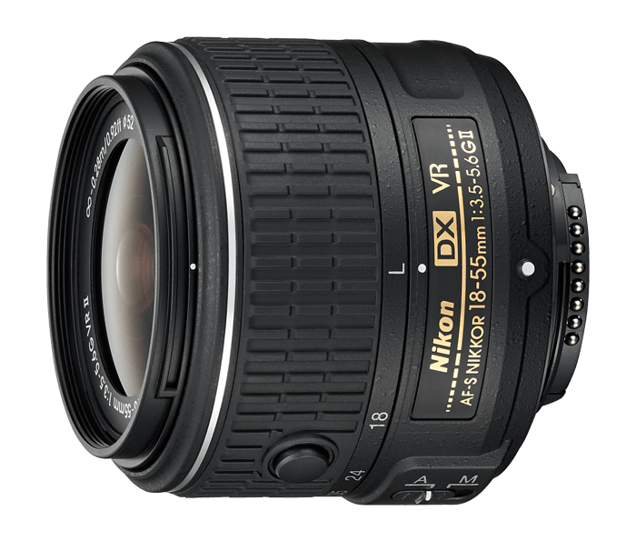 Image result for Nikon AF-S DX NIKKOR 18-55mm f/3.5-5.6G VR