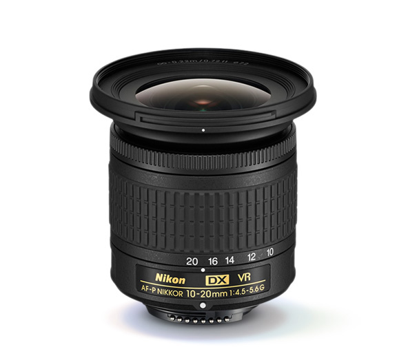 Photo of the AF-P DX NIKKOR 10-20mm f/4.5-5.6G VR lens