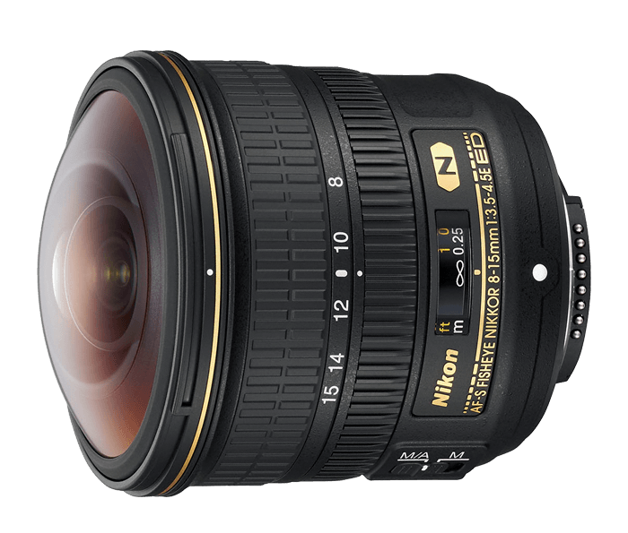 Photo of AF-S FISHEYE NIKKOR 8-15mm f/3.5-4.5E ED (Refurbished)