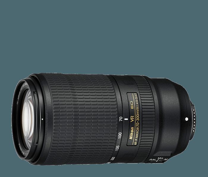 Nikon AF-P NIKKOR 70-300mm f/4 5-5 6E ED VR Lens | Interchangeable