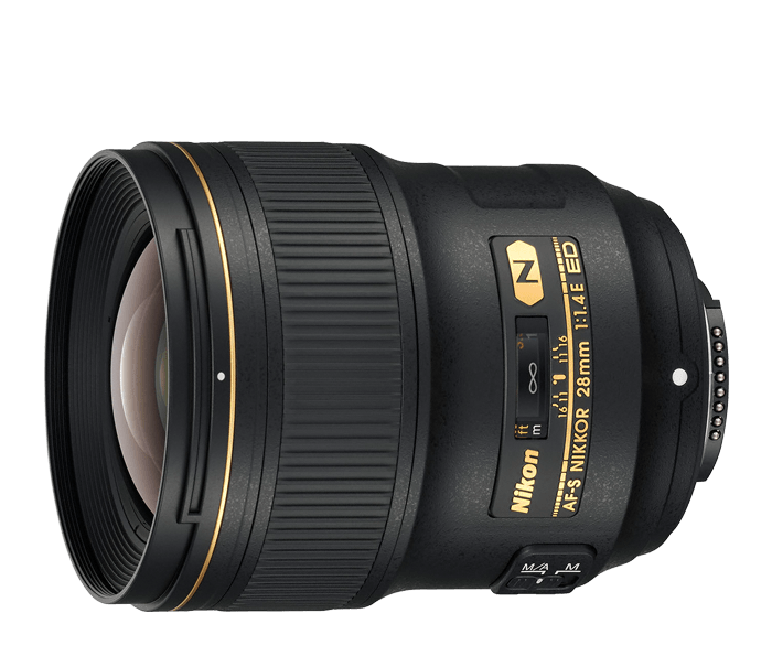 Photo of AF-S NIKKOR 28mm f/1.4E ED (Refurbished)