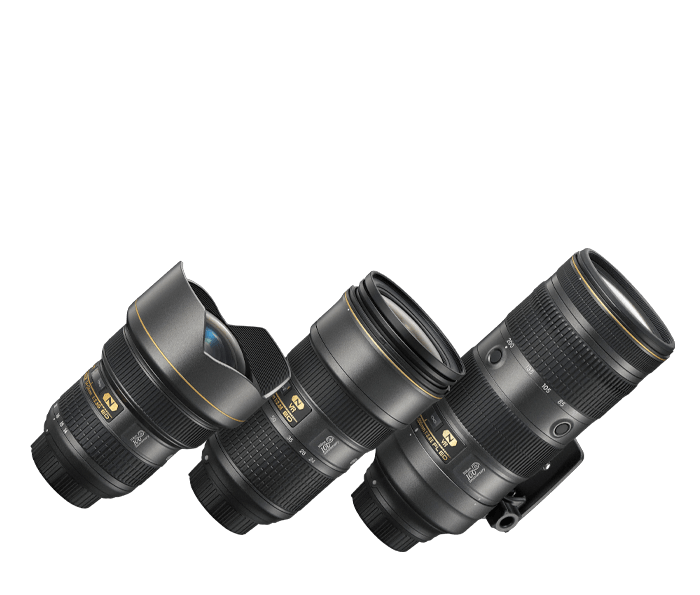 Photo of NIKKOR Triple f/2.8 Zoom Lens Set 100th Anniversary Edition