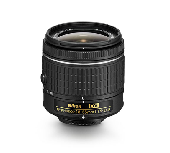 product photo of the AF-P DX NIKKOR 18-55mm f/3.5-5.6G lens