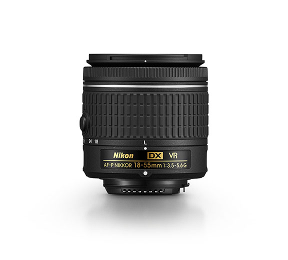 Photo of the AF-P DX NIKKOR 18-55mm f/3.5-5.6G VR lens