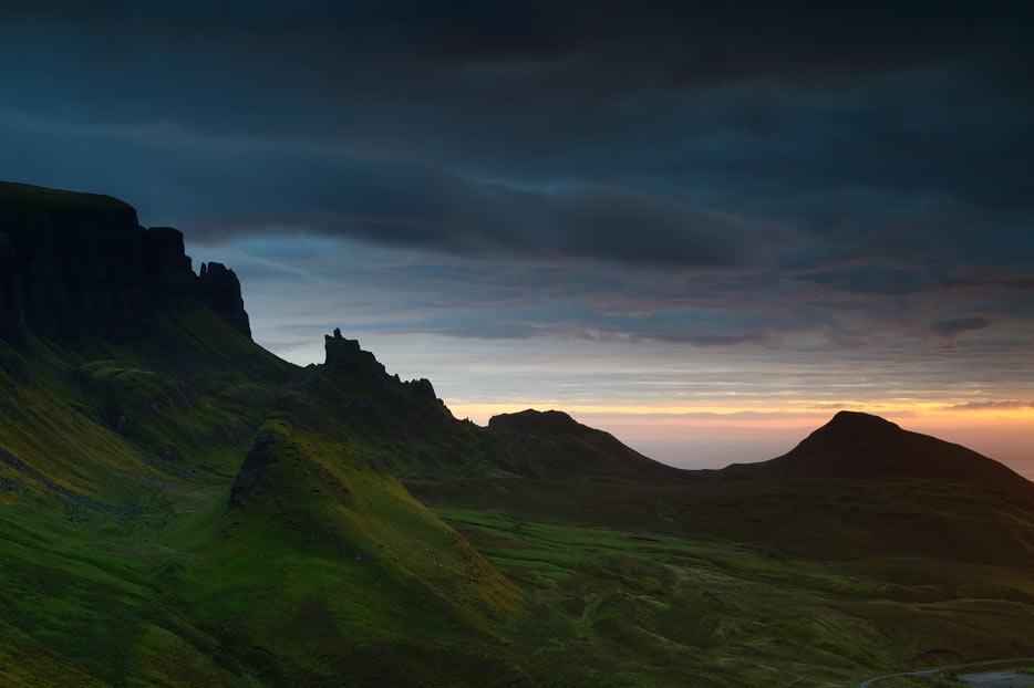 Fotografía de un paisaje con poca luz tomada con un AF-S NIKKOR 50mm f/1.8G