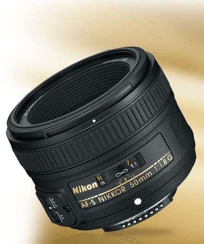 AF-S NIKKOR 50mm f/1.8G product photo
