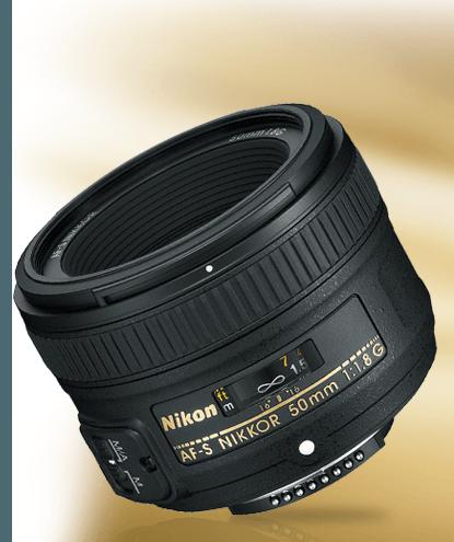 AF-S NIKKOR 50mm f/1.8G product photo