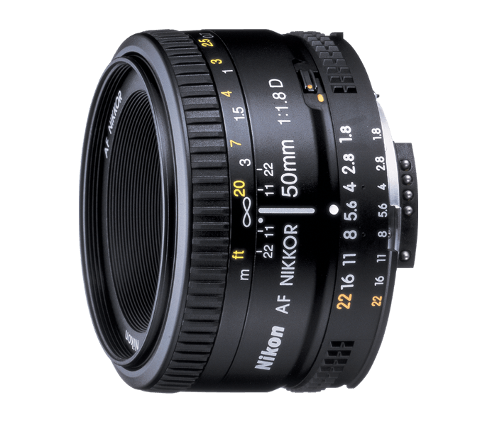Photo of AF Nikkor 50mm f/1.8D (Refurbished)