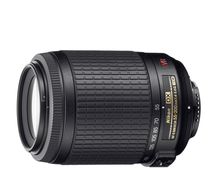 Photo of  AF-S DX VR Zoom-Nikkor<br/> ED 55-200mm F4-5.6G (Refurbished)