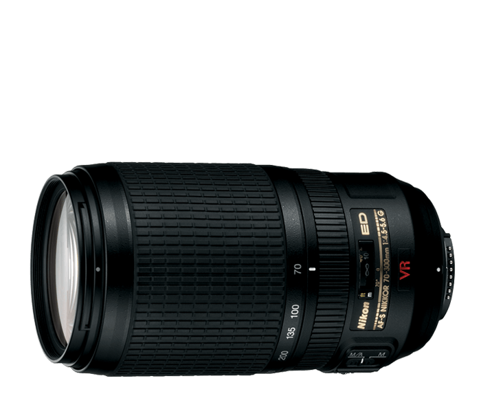 Photo of AF-S VR Zoom-Nikkor 70-300mm f/4.5-5.6G IF-ED (Refurbished)