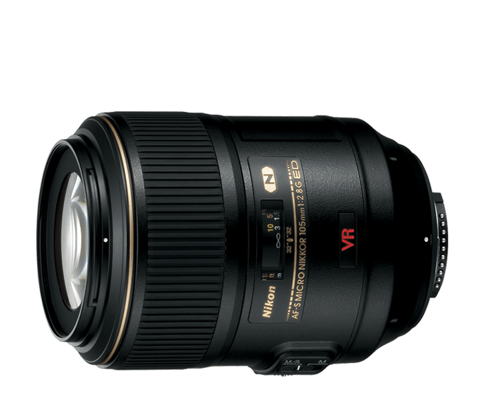 Photo of  AF-S VR Micro-Nikkor<br/> 105mm f/2.8G IF-ED (Refurbished)