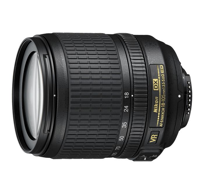 Photo of  AF-S DX NIKKOR<br/> 18-105mm f/3.5-5.6G ED VR (Refurbished)