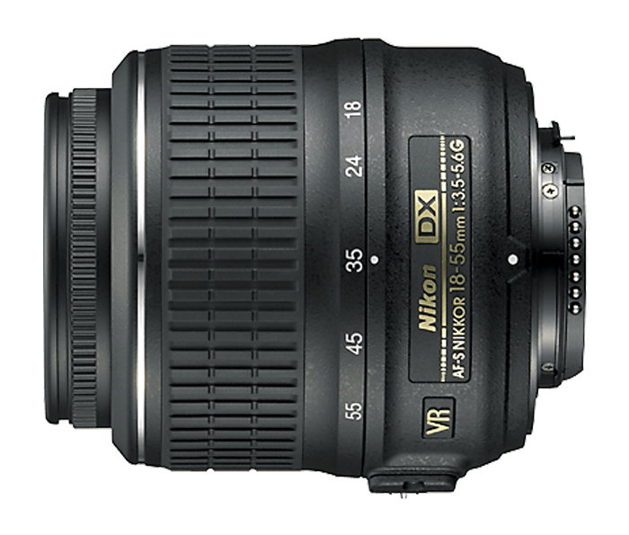 Photo of AF-S DX Zoom-Nikkor ED 18-55mm F3.5-5.6G (Refurbished)