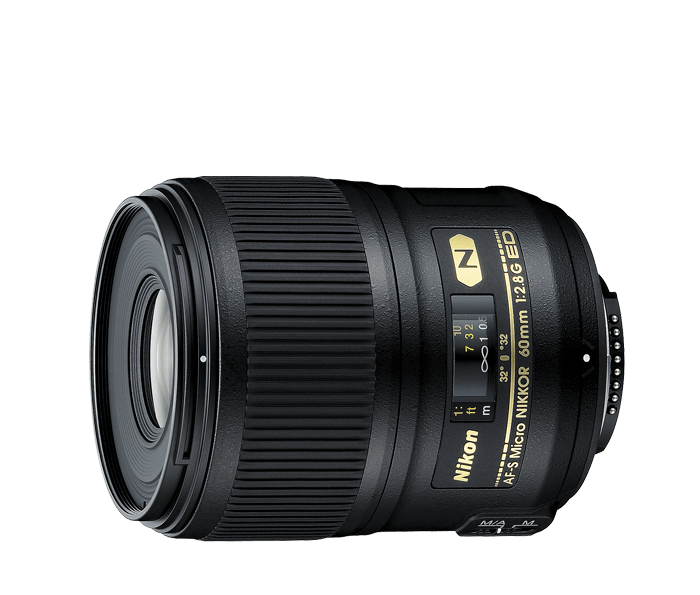 Photo of  AF-S Micro Nikkor<br/> 60mm f/2.8G ED (Refurbished)