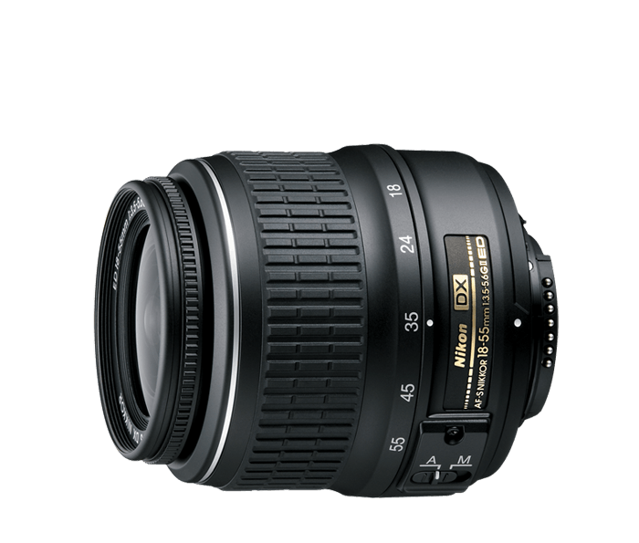 Photo of  AF-S DX Zoom-Nikkor<br/> 18-55mm f/3.5-5.6G ED II (Refurbished)