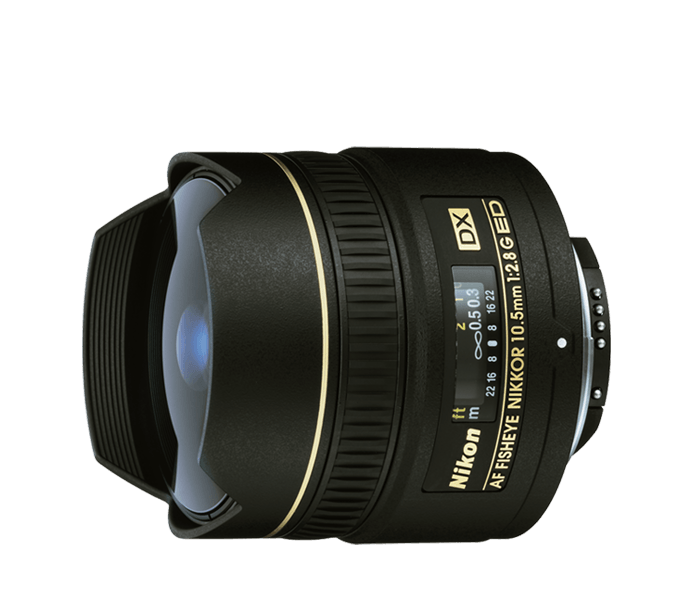 Photo of AF DX Fisheye-Nikkor 10.5mm f/2.8G ED (Refurbished)