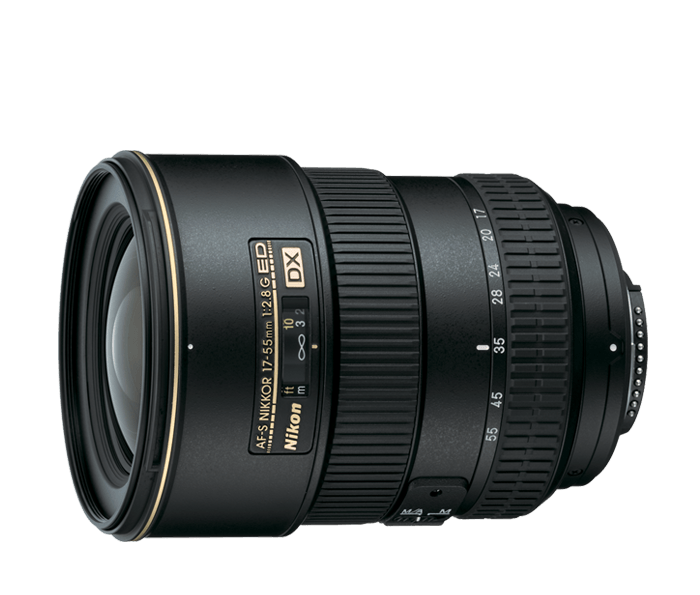 AF-S DX Zoom-Nikkor<br/> 17-55mm f/2.8G IF-ED