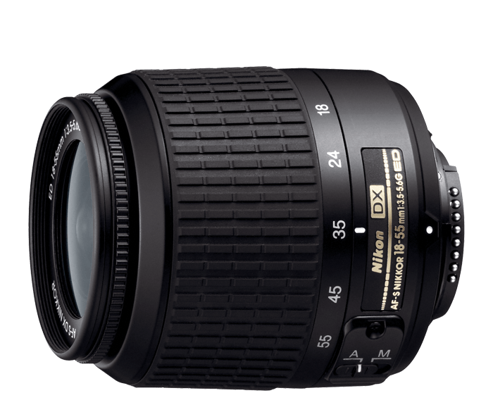 Photo of  AF-S DX Zoom-Nikkor<br/> 18-55mm f/3.5-5.6G ED