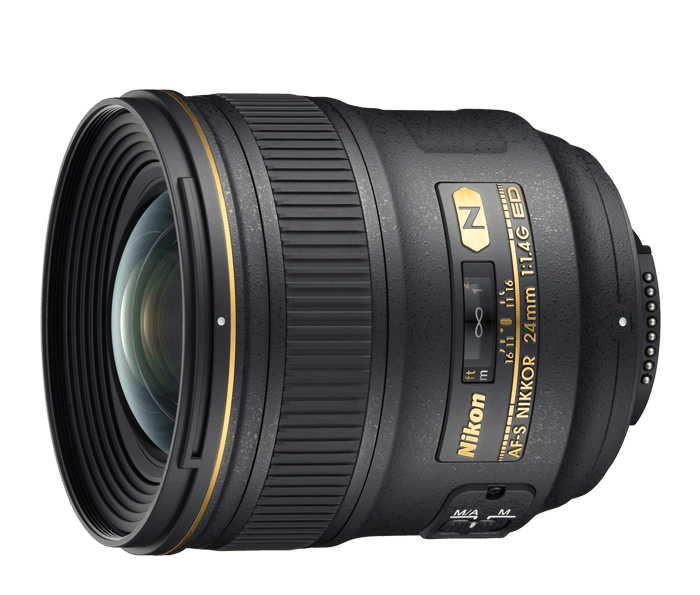 Photo of AF-S NIKKOR 24mm f/1.4G ED (Refurbished)