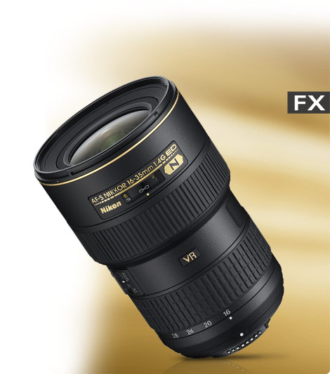 AF-S NIKKOR 16-35mm f/4G ED VR product photo