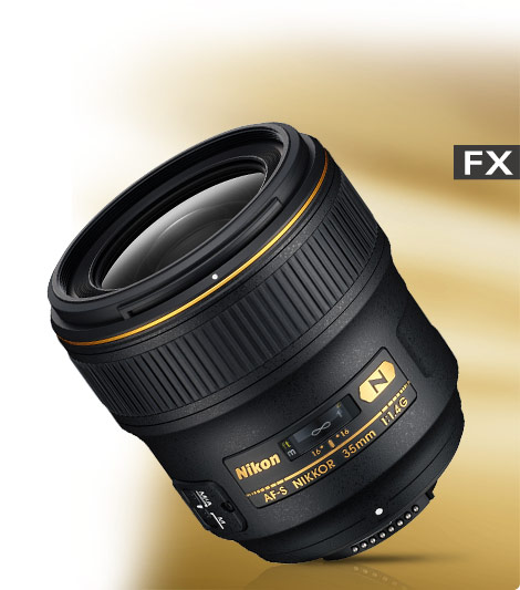 AF-S NIKKOR 35mm f/1.4G product photo