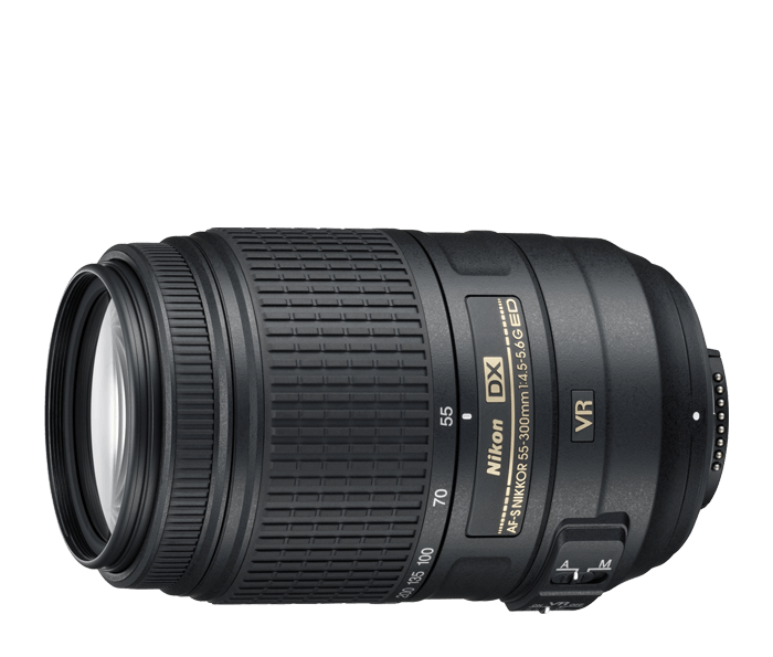 AF-S DX NIKKOR 55-300mm f/4.5-5.6G ED VR from Nikon