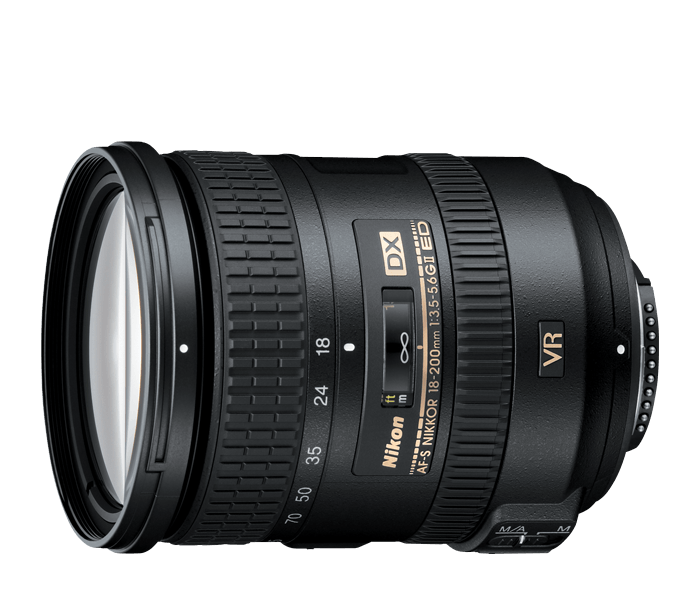 Photo of AF-S DX NIKKOR 18-200mm f/3.5-5.6G ED VR II (Refurbished)