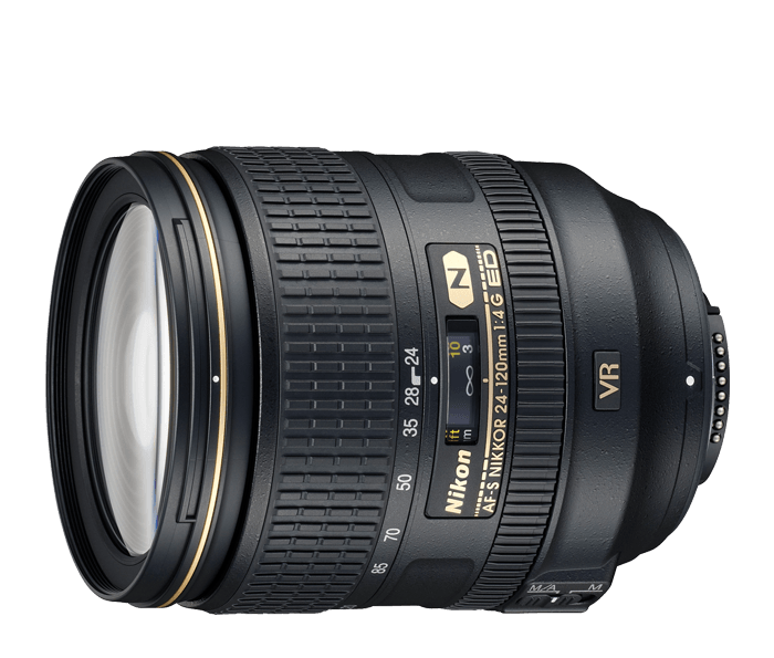 Photo of  AF-S NIKKOR<br/> 24-120mm f/4G ED VR (Refurbished)