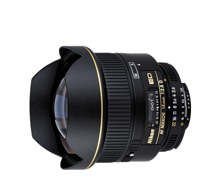Photo of AF Nikkor 14mm f/2.8D ED (Refurbished)