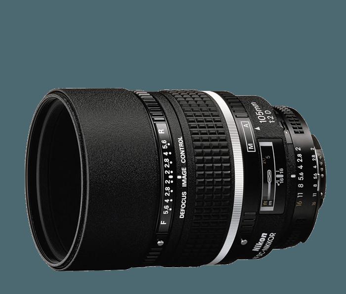 AF DC-NIKKOR 105mm f/2D