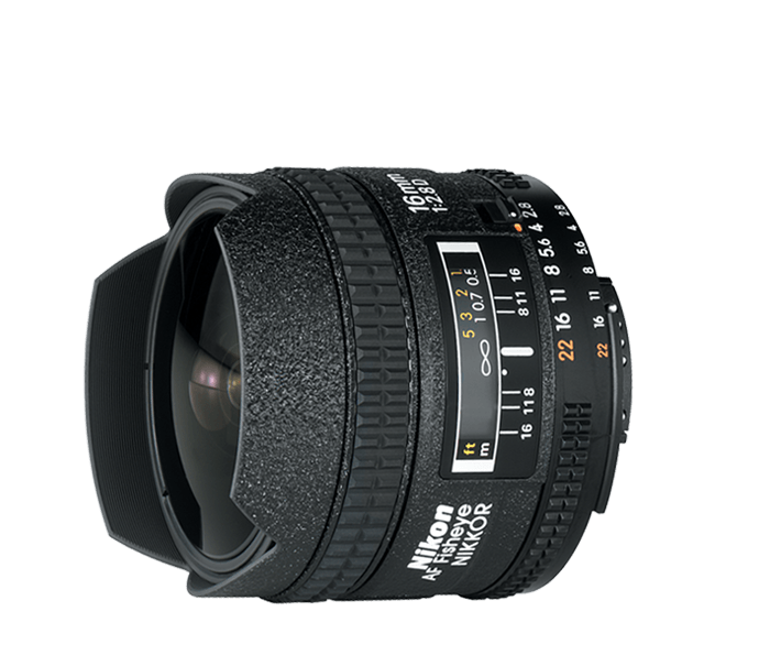 Photo of  AF Fisheye-Nikkor<br/> 16mm f/2.8D (Refurbished)