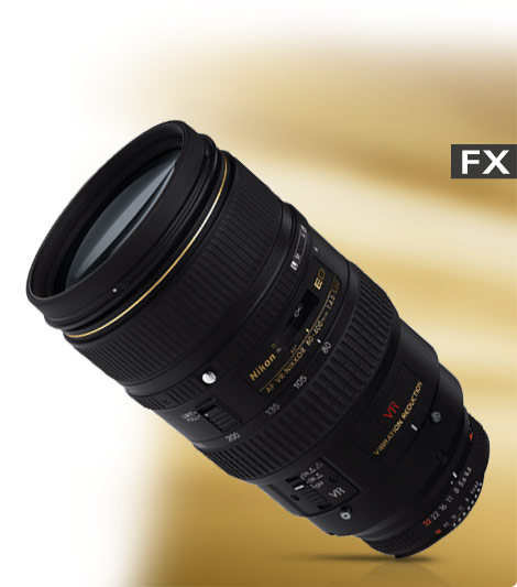 Product photo of the AF VR Zoom-NIKKOR 80-400mm f/4.5-5.6D ED lens