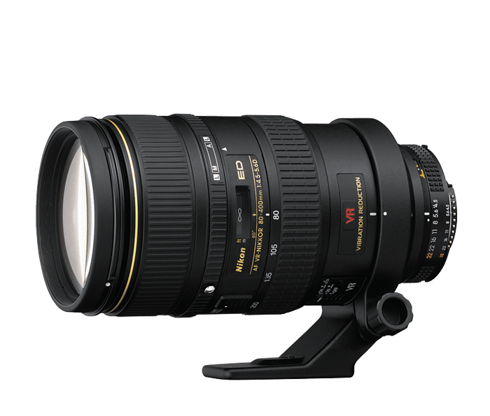 Photo of  AF VR Zoom-NIKKOR<br/> 80-400mm f/4.5-5.6D ED (Refurbished)