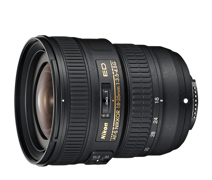 Photo of AF-S NIKKOR 18-35mm f/3.5-4.5G ED (Refurbished)