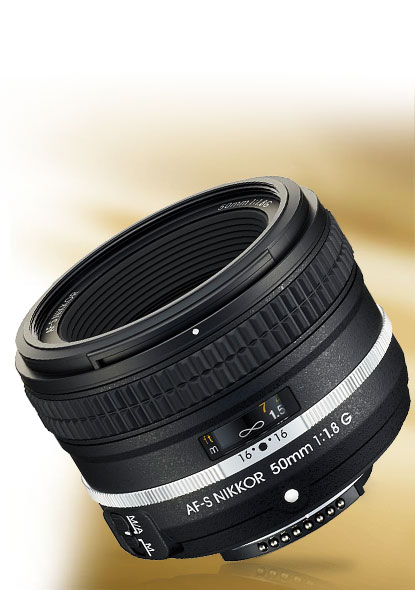 Product photo of the AF-S NIKKOR 50mm f/1.8G Special Edition lens