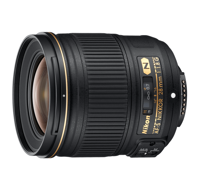 Photo of AF-S NIKKOR 28mm f/1.8G (Refurbished)