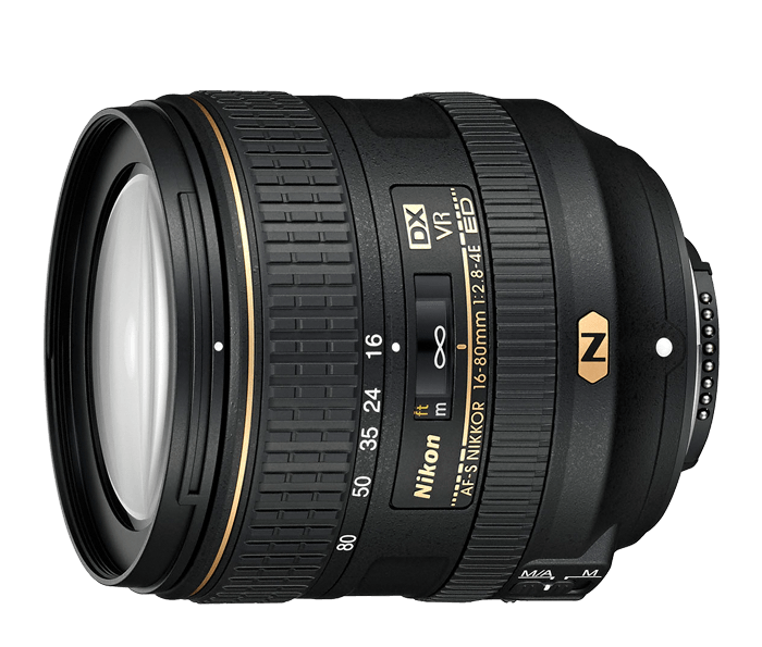 Photo of  AF-S DX NIKKOR<br/> 16-80mm f/2.8-4E ED VR (Refurbished)