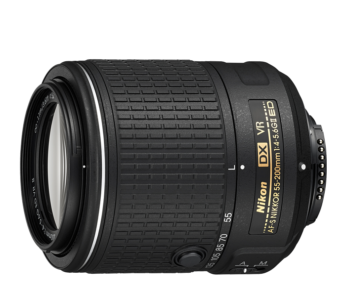 Photo of  AF-S DX NIKKOR<br/> 55-200mm f/4-5.6G ED VR II (Refurbished)