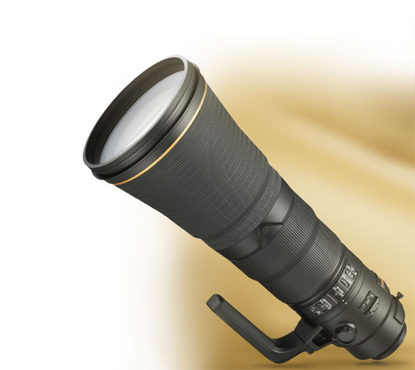 Product photo of the AF-S NIKKOR 600mm f/4E FL ED VR lens