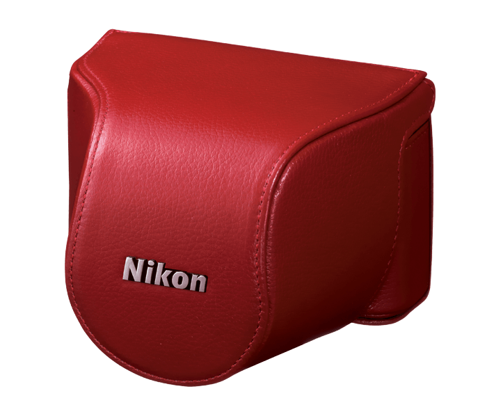 Set d'étui de protection CB-N2000SE en cuir rouge