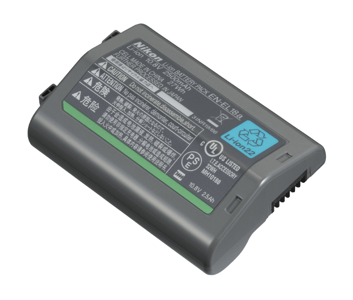 Accumulateur rechargeable Li-ion EN-EL18a