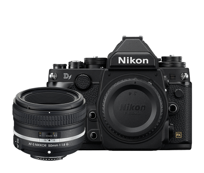 Photo of Nikon Df Special Edition Lens Kit Black